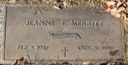 Jeanne T. Merritt