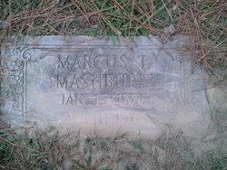 Marcus T Mashburn