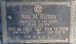 Abe M Reider