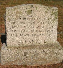 """Urbain F """"Benny"""" Belanger"""