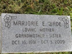 Marjorie E. Wade