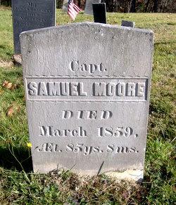 Capt Samuel Moore