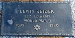 Lewis Reider