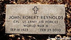 Corp John Robert Reynolds