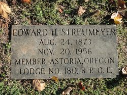 Edward H Streumayer