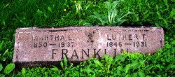 Martha L. <I>Lewis</I> Franklin