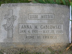 Anna M Gablowski
