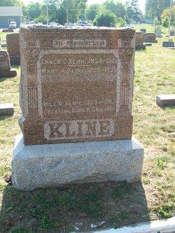 "Mary Ann ""Mollie"" <I>Mohr</I> Kline"