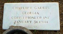 LCpl Charlie Fletcher Gaddis