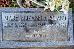 Mary Elizabeth Roland
