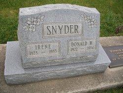 Irene <I>Smith</I> Snyder