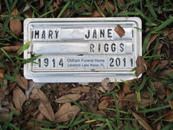 Mary Jane Riggs