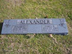 Byrdie Christine <I>Smithson</I> Alexander