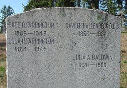 Julia A Baldwin