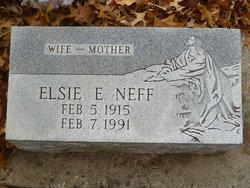 Elsie E Neff