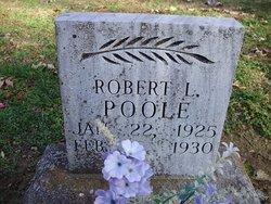 Robert Lee Poole