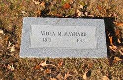 Viola M. Maynard