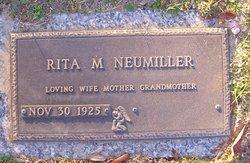 Rita M Neumiller