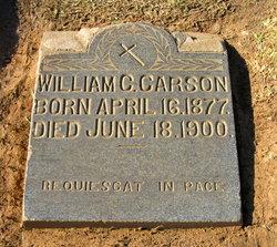 "William Cristobal ""Willie"" Carson"