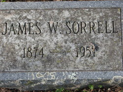 James W Sorrell