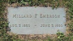 Millard F Emerson