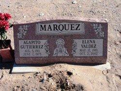 Elena <I>Valdez</I> Marquez