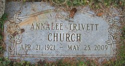 Annalee <I>Trivett</I> Church