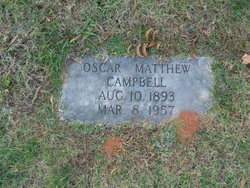 Oscar Matthew Campbell