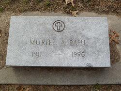 Muriel <I>Anderson</I> Pahl
