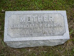 "Phoebe Charlotte ""Lottie"" <I>Underwood</I> Cannon"