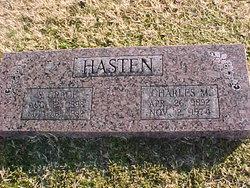 Sylvia Grace <I>Palmer</I> Hasten