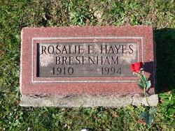 Rosalie E <I>Hayes</I> Bresenham