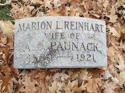 Marion Leigh <I>Reinhart</I> Paunack