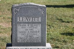 Frank W Leavitt