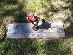 """Nathaniel """"Nay"""" Brown, Sr"""