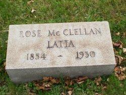 Rose <I>McClellan</I> Latta