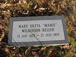 """Mary Sileta """"Mamie"""" <I>Wilkinson</I> Keller"""