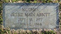 Jessie <I>Main</I> Abbitt