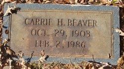 Carrie Matilda <I>Hagler</I> Beaver