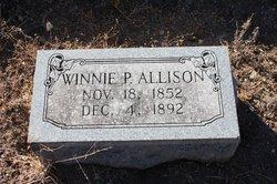 Winnie P <I>Field</I> Allison