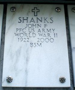 John F Shanks