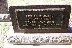 Sgt Ruth I <I>Balleweg</I> Summers