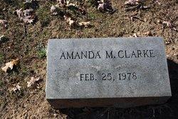 Amanda M. Clarke