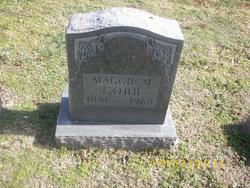 """Mae M. """"Maggie"""" <I>Potter</I> Cobb"""