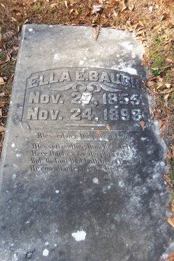 Ella Elizabeth <I>Morgan</I> Baugh