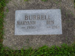 Maryann <I>Harrell</I> Burrell