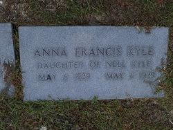Anna Francis Kyle