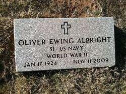 Oliver Ewing Albright