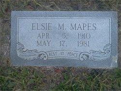 Elsie Marguerite <I>Cleveland</I> Mapes