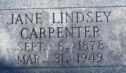 Jane Lindsey Carpenter